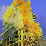 M-Machine, oil on canvas
