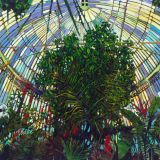 Palmhouse oil on canvas