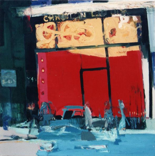 Christian Lacroix, Bond Street, oil on canvas