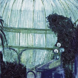 Glass House Dome, oil on canvas, simon mcwilliams