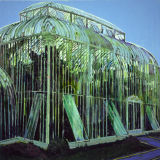 Glasnevin Palmhouse, oil on canvas, Simon McWilliams
