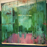 Greenhouse Condensation , oil on canvas, Simon McWilliams