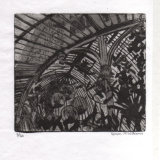 """Palm House Belfast"" - etching, 14 x 16cm, edition of 20"