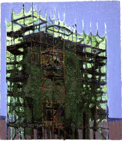 Restoration, oil on canvas, Simon McWilliams