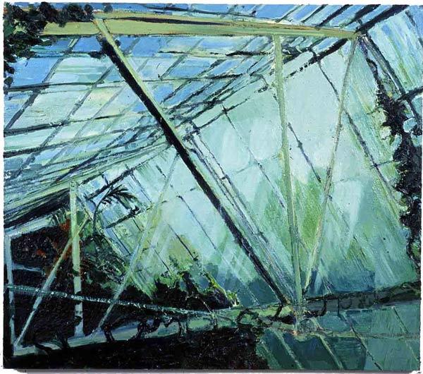 The Ravine, oil on canvas, Simon McWilliams
