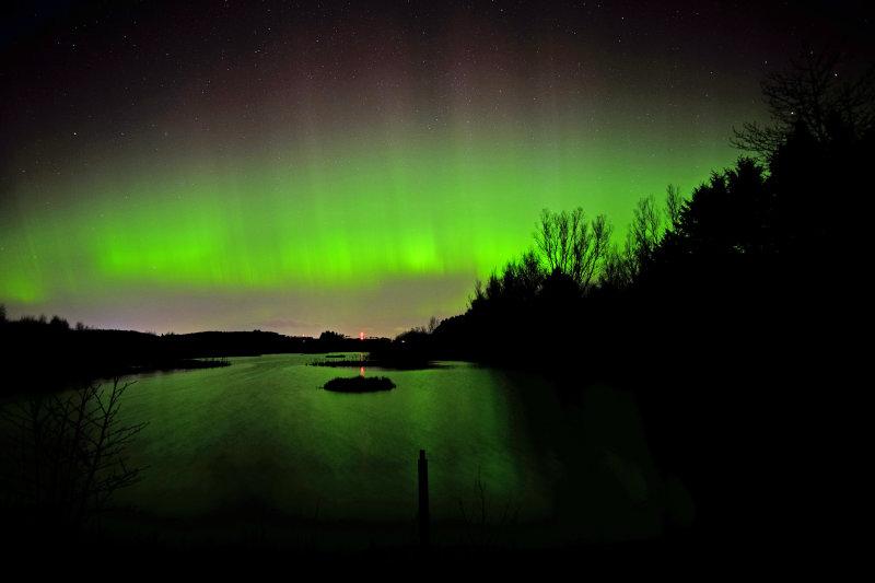 Aurora, Morton Lochs, Tayport