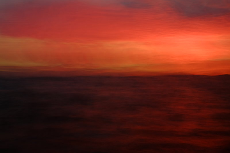 Balmerino fierce sunset