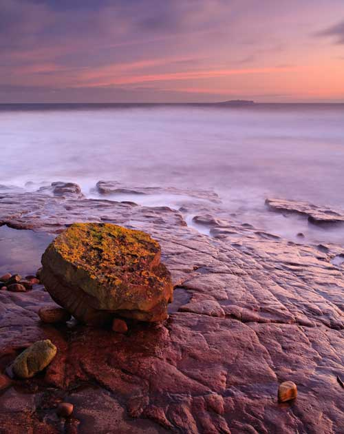 Isle of May from Crail II