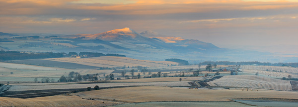 Lomond Hills in winter