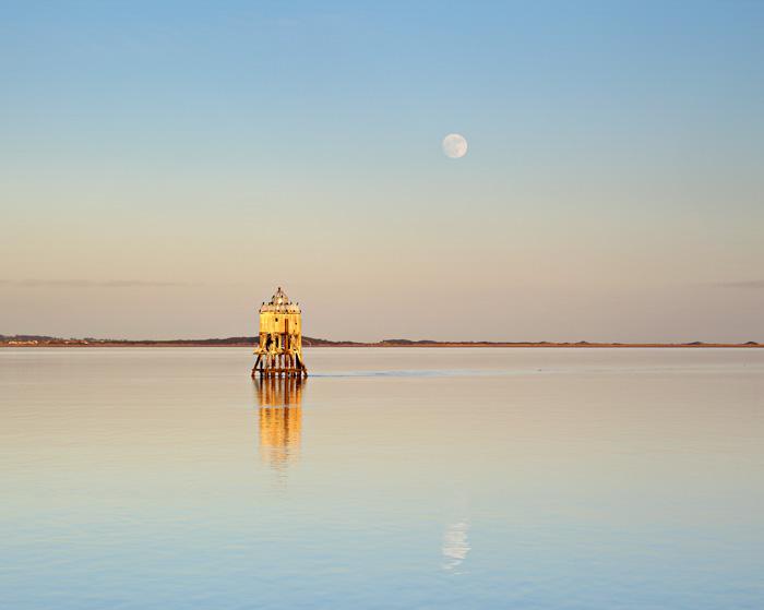 Stack Lighthouse Moonrise