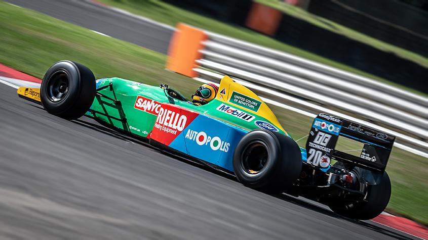 1990 Benetton B190 Ex Nelson Piquet F1 Demonstration 4