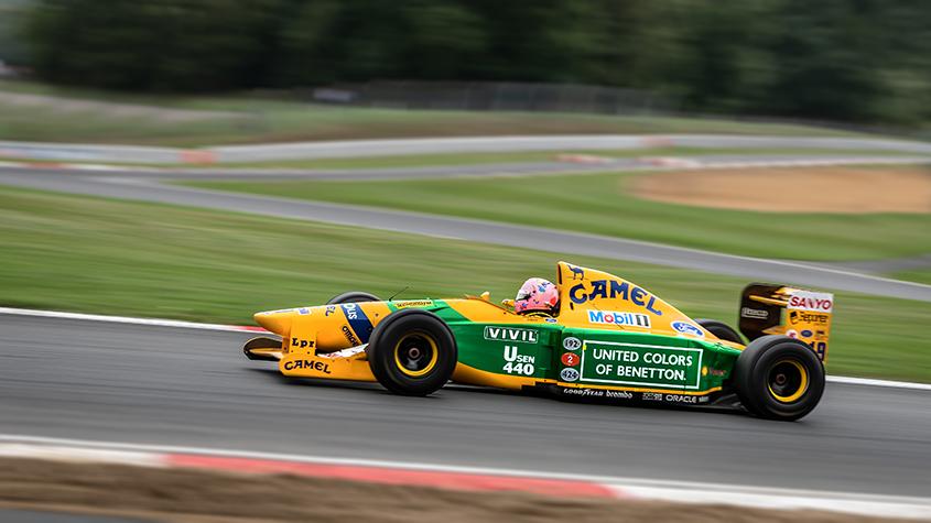 1992 Benetton B192 Ex Michael Schumacher F1 Demonstration 3