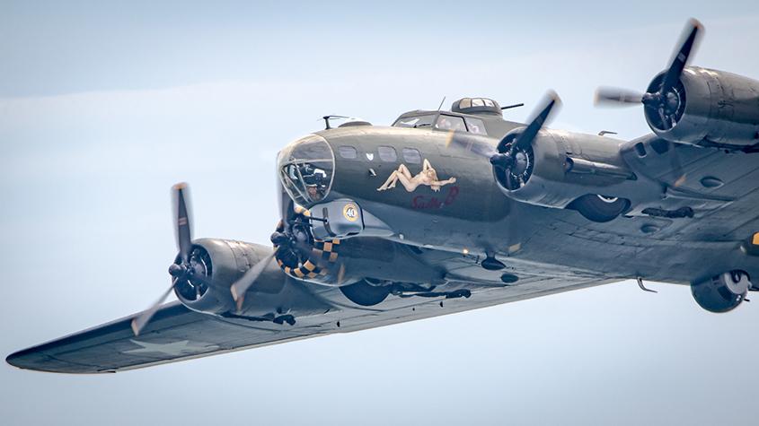 B 17 Flying Fortress Sally B