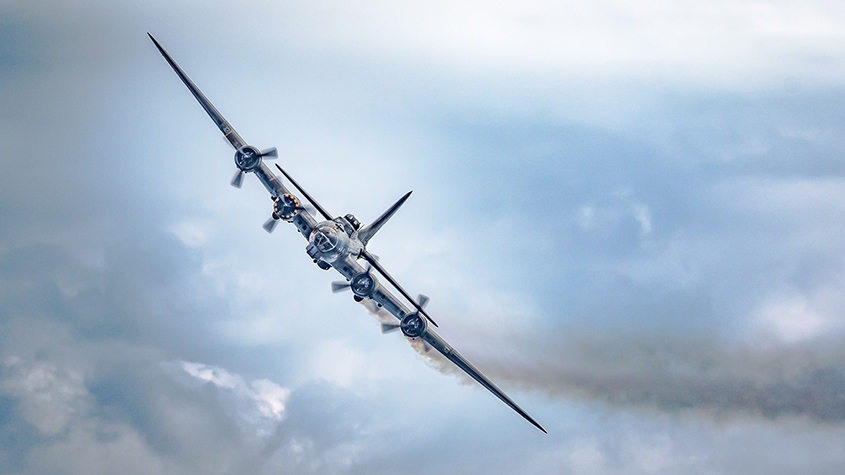 B 17 Flying Fortress Sally B No2
