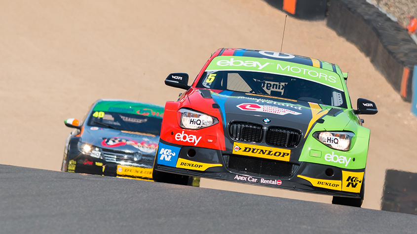 Into druids at Brands Hatch