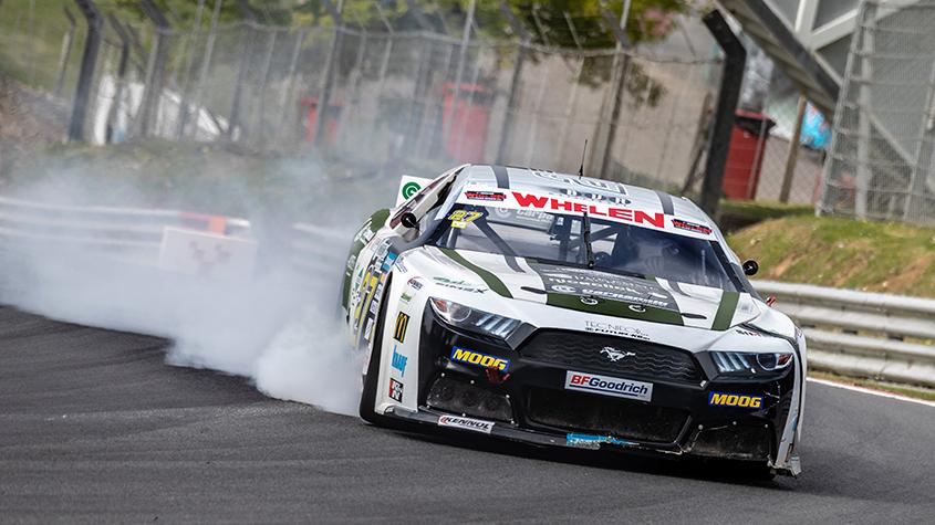 NASCAR Whelen Euro Series Angelo Rogari and Pierluigi Veronesi