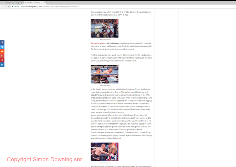 George Groves vs Martin Murray in Ringnews24