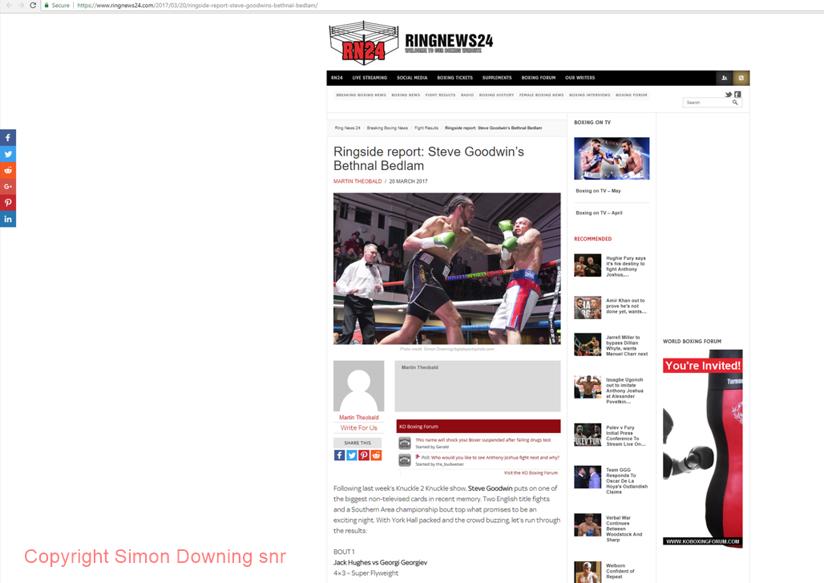 Wadi Camacho vs Karl Wheeler in Ringnews24