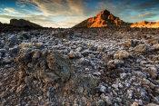 Western Teide Caldera at sunrise
