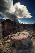 On Los Roques de Garcia Trail
