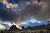 Los Roques de Garcia at sunset
