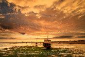 Shoeburyness West Beach Sunset