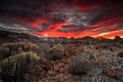 Teide South Caldera Rim Sunset