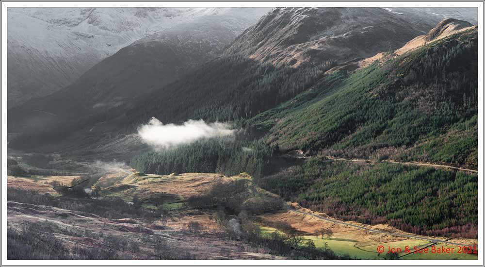 Cloud in Glen Nevis