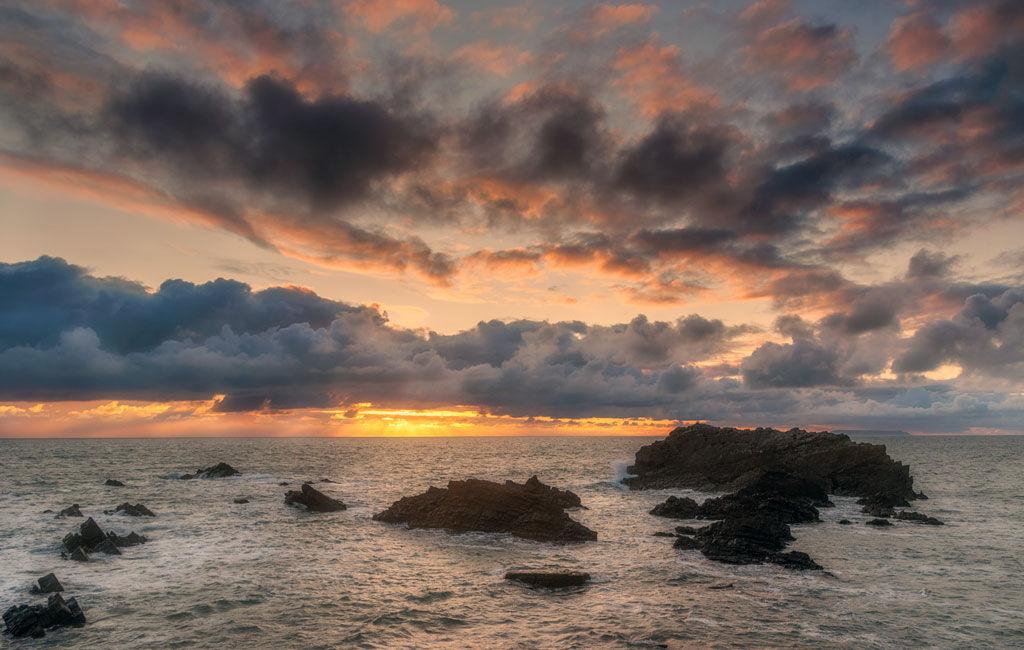 Hartland Sunset