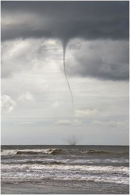 Funnel Cloud in Cardigan Bay