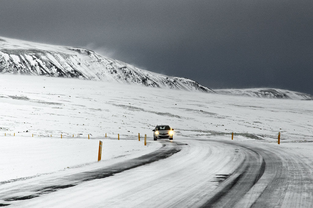 Winter Driving Iceland Style
