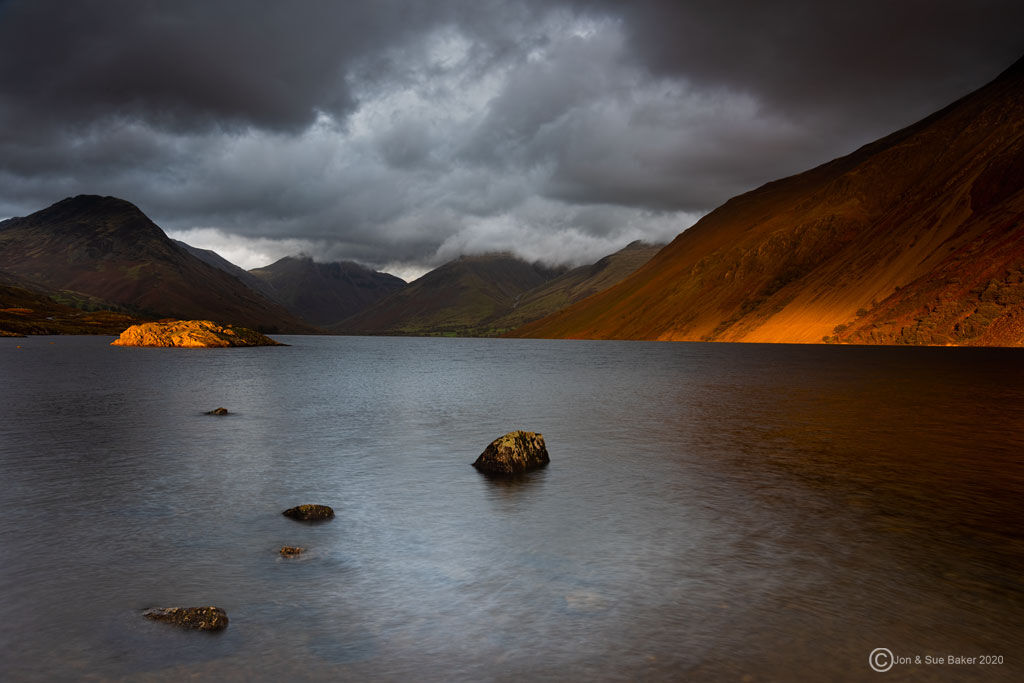 Wast Water Sunset