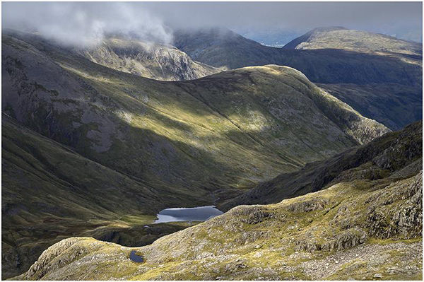 Looking Down To StyHead Pass