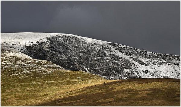 Ridges In The Snow