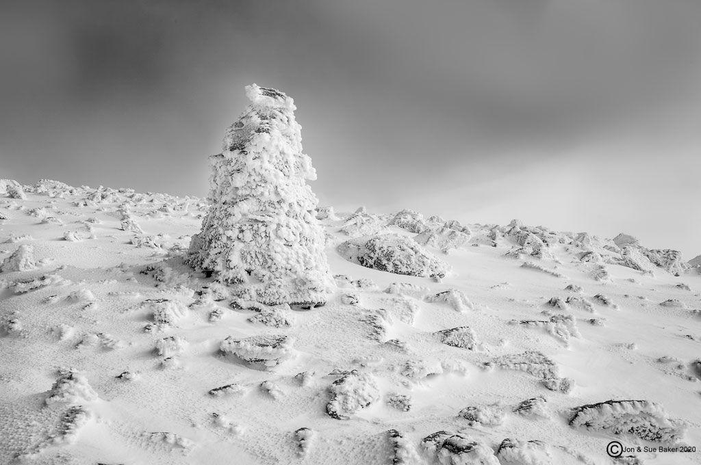 Frozen Cairn Ben Nevis