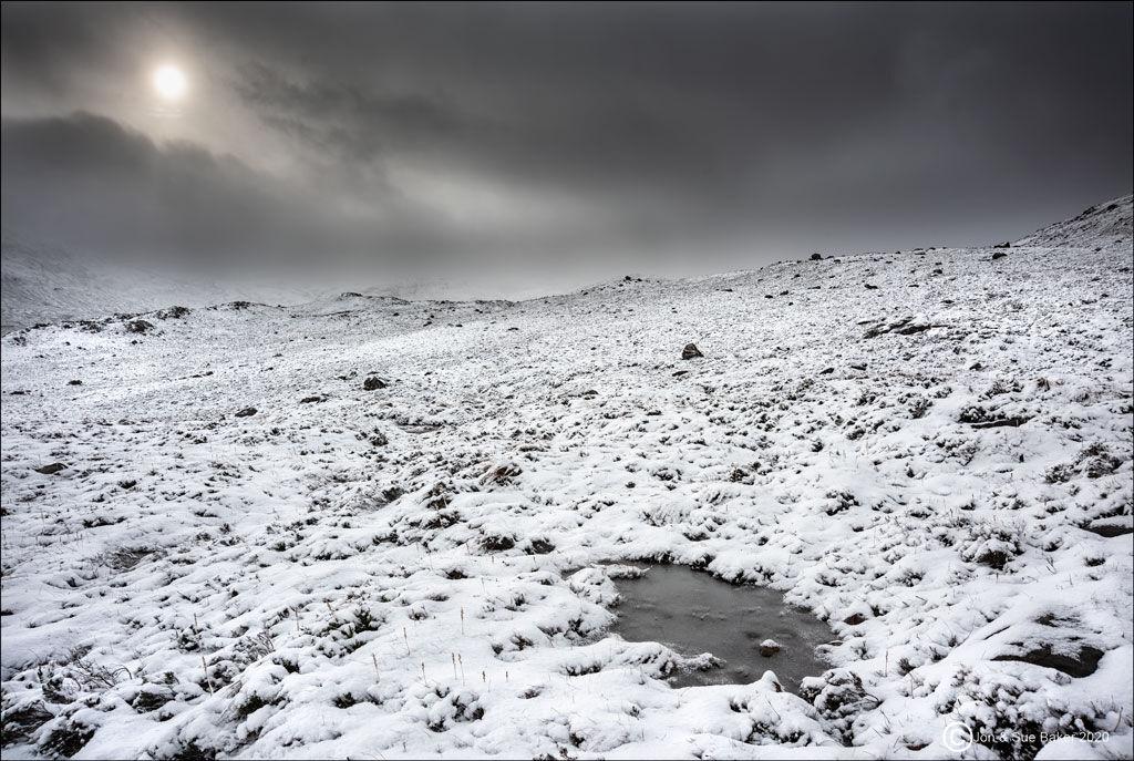 Winter Sun, Glen Torridon