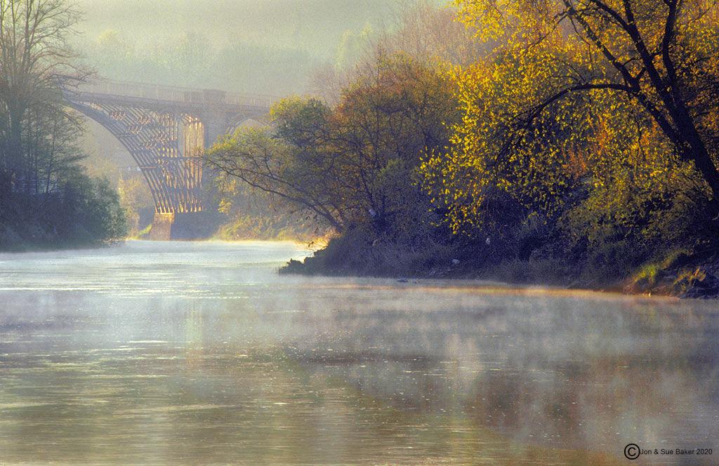 Ironbridge in Autumn
