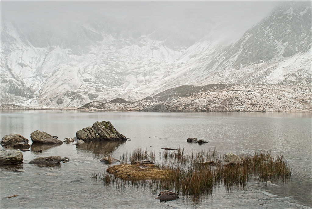 Winter At Llyn Idwal