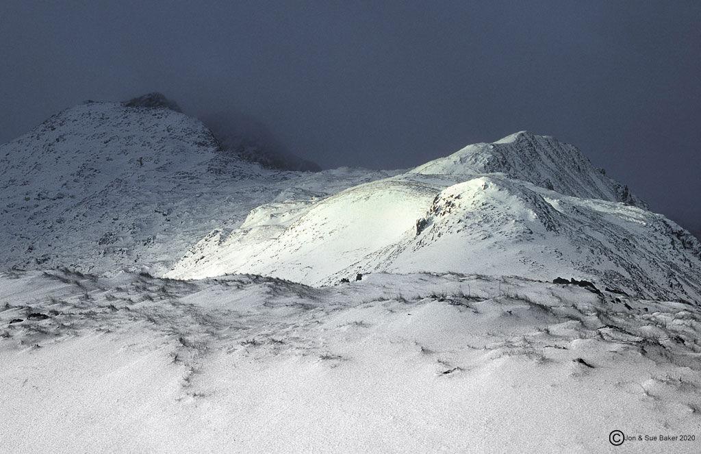 Winter on Y Lliwedd