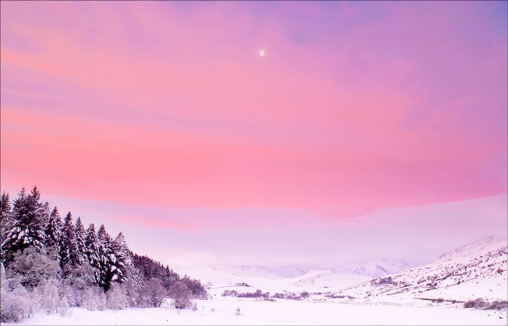 Moonset Over Snowdon