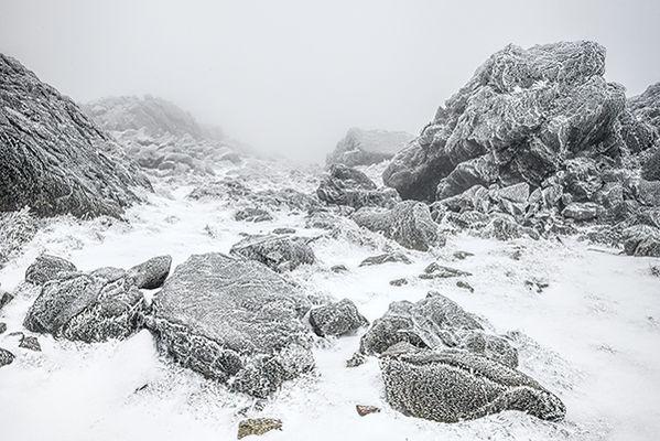 Winter on Cadair Idris