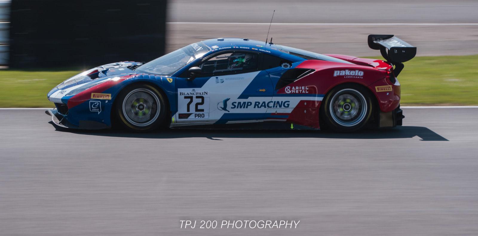 Miguel Molina/Mikhall/Ferrari 488 Wining Car