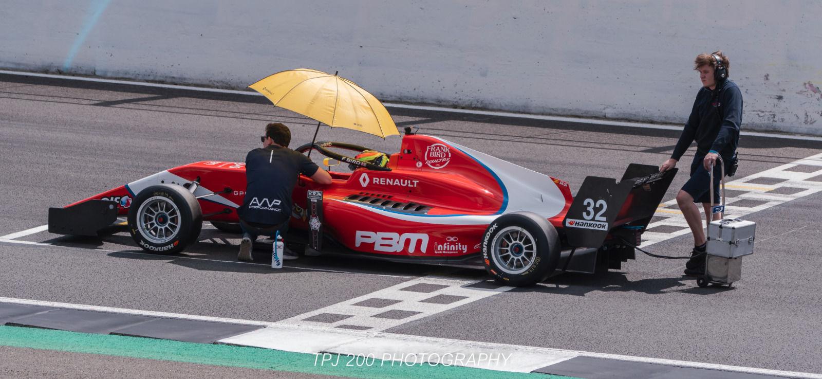 Frank Bird Formula Renault