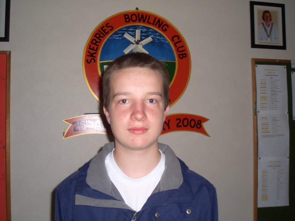 Owen Johnston - selected to represent the BLI in the forthcoming Junior Inter-Association Series
