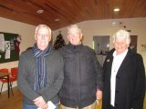 Golden Doubles Winners 2017 John O'Dowd and Christine Mulcahy with Owen Morrissey-Murphy