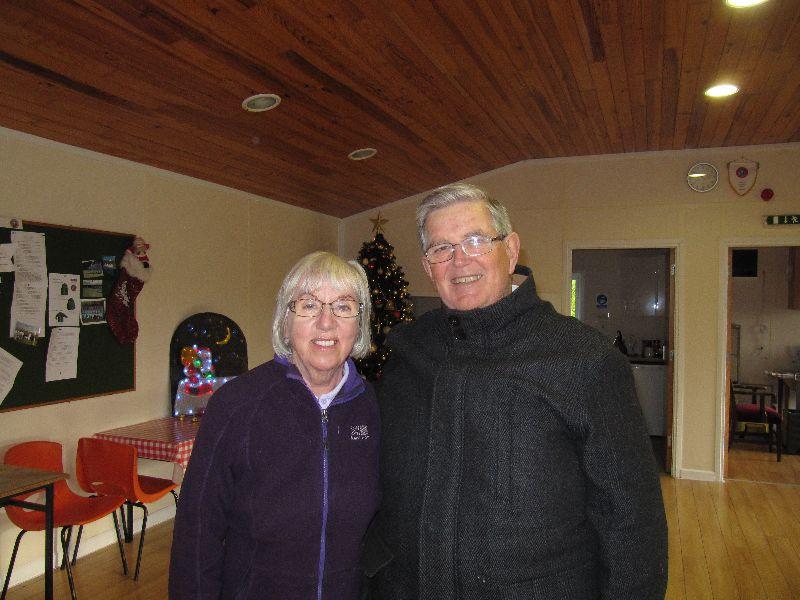 Runner-up in the Golden Nancy O'Rourke with Owen Morrissey-Murphy