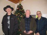 Sunday morning winners Martin, Peter & Tony