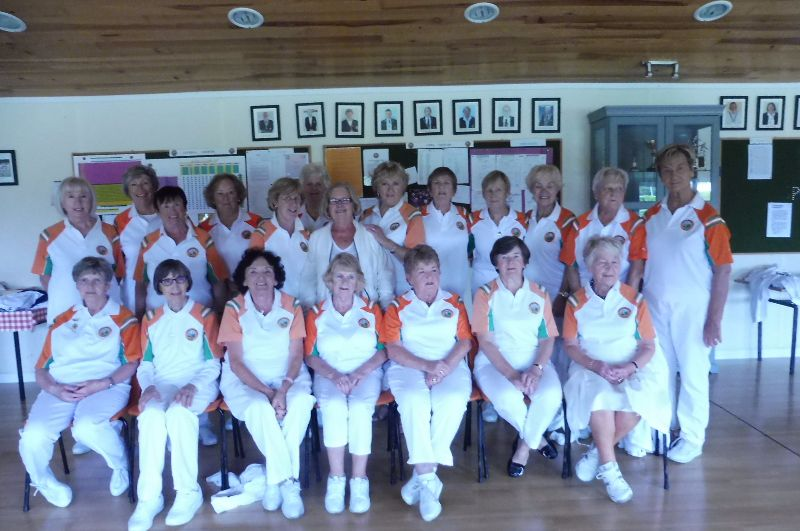 Ladies Captain Day 2017 ready to play