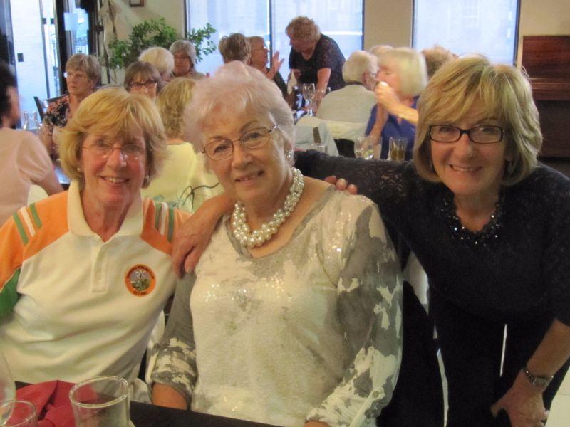 Anne Lawless, Mary Attley, Norma Radley