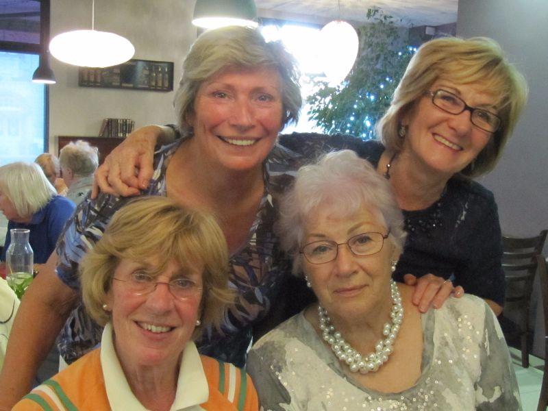 Sheila Kelly, Norma Radley, Anne Lawless, Mary Attley